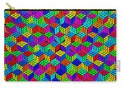 Rubik's Cube Abstract Carry-all Pouch