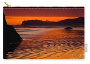 Ruby Beach Afterglow Carry-all Pouch