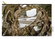 Ruby Beach Driftwood #3 Carry-all Pouch