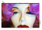 Ruby Red Lips Carry-all Pouch