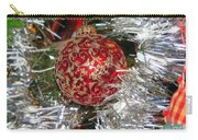 Ruby Red Ornament Carry-all Pouch