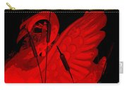 Ruby Red Swan Carry-all Pouch