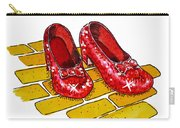 Ruby Slippers The Wizard Of Oz  Carry-all Pouch by Irina Sztukowski