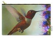 Ruby Throated Hummingbird Digital Art Carry-all Pouch