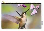 Ruby-throated Hummingbird - Digital Art Carry-all Pouch