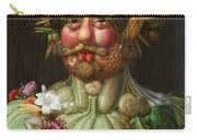 Rudolf II Of Habsburg As Vertumnus Carry-all Pouch