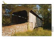 Rudolph Arthur Covered Bridge Carry-all Pouch