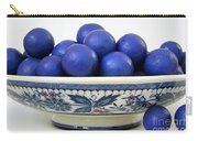 Rudraksha Tree Seeds In Vintage Dish Carry-all Pouch