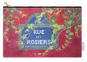Rue Des Rosiers In Paris Carry-all Pouch