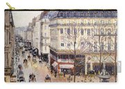Rue Saint Honore Afternoon Rain Effect Carry-all Pouch