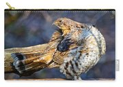 Ruffed Grouse Preening Carry-all Pouch