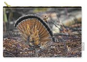 Ruffed Grouse Rear Strut Carry-all Pouch
