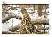 Ruffed Grouse Rear View Carry-all Pouch