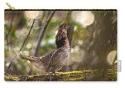 Ruffed Grouse Side Pose Carry-all Pouch