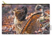 Ruffed Grouse Side Strut Carry-all Pouch