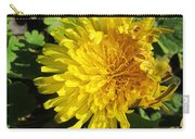 Ruffled Dandelion Carry-all Pouch