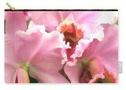Ruffles And Flourishes Cattleya Orchids Carry-all Pouch