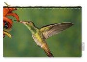 Rufous Hummingbird Feeding Carry-all Pouch