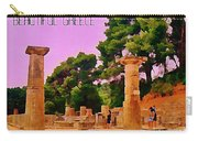 Ruins At Olympus Greece Carry-all Pouch by John Malone
