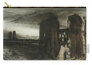 Ruins In A Landscape Carry-all Pouch
