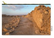 Ruins Of A Fort, Masada, Israel Carry-all Pouch