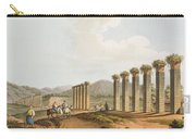 Ruins Of An Aqueduct Near Ephesus, 1810 Carry-all Pouch