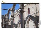 Ruins Of Carmo Convent In Lisbon Carry-all Pouch