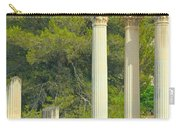 Ruins Of Roman Columns In Glanum  Carry-all Pouch