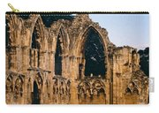 Ruins Of St. Mary's Abbey Carry-all Pouch