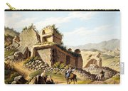 Ruins Of The Stadium, 1790s Carry-all Pouch