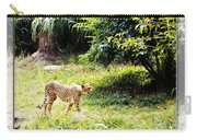 Run Cheetah Run 0 To 60 In 3 Seconds Carry-all Pouch