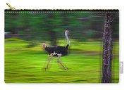 Run Ostrich Carry-all Pouch