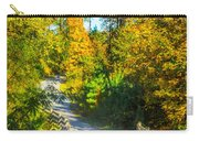 Runner's Path In Autumn Carry-all Pouch