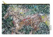 Running Beauty - Oil Painting Portrait Carry-all Pouch
