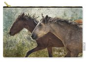 Running Free - Pryor Mustangs Carry-all Pouch