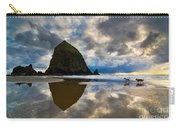 Running Free - Dogs Running In Beautiful Cannon Beach. Carry-all Pouch by Jamie Pham