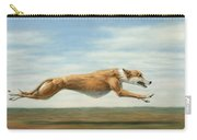 Running Free Carry-all Pouch by James W Johnson