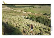Running In Esquel, Chubut, Argentina Carry-all Pouch