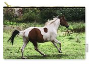 Running Pinto Horse Carry-all Pouch