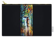 Running Towards Love - Palette Knife Oil Painting On Canvas By Leonid Afremov Carry-all Pouch