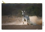 Running Zebra Carry-all Pouch by Johan Swanepoel