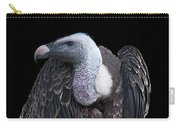 Ruppel's Griffon On Black Carry-all Pouch