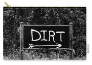 Rural Area Sign Carry-all Pouch