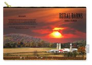 Rural Barns By Randall Branham Carry-all Pouch