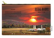 Rural Barns  My Book Cover Carry-all Pouch
