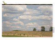 Rural Field Landscape In Maryland Carry-all Pouch