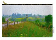 Rural Highway In Oil Paint Carry-all Pouch