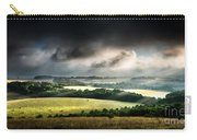Rural Landscape Stormy Daybreak Carry-all Pouch