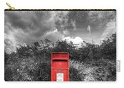 Rural Post Box Carry-all Pouch by Mal Bray