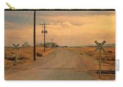 Rural Railroad Crossing Carry-all Pouch
